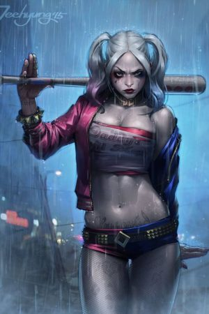 Illustration | Harley Quinn by JeeHyung lee