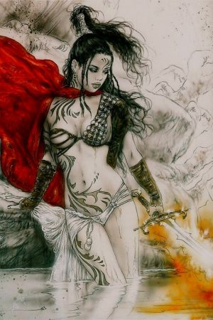 illustration by Luis Royo