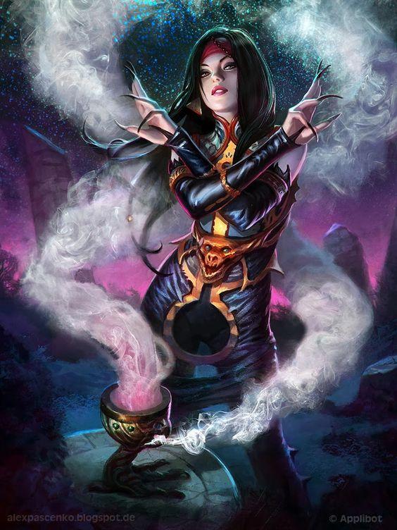 Witch Regular Version by Alexandr Pascenko