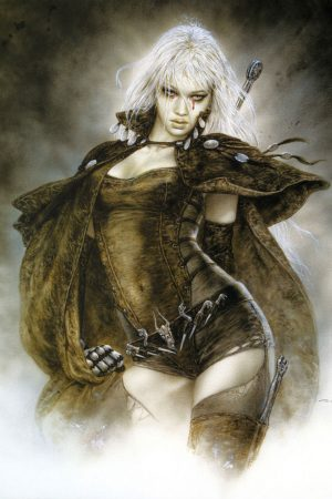 Dead Moon Epilogue by Luis Royo