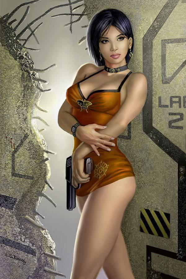 Resident Evil Ada Wong by Alan Gutierrez