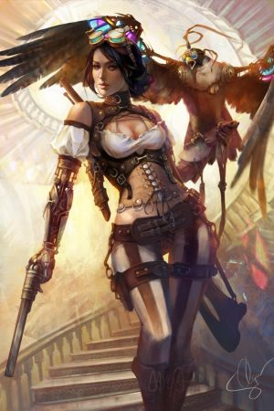 Warriors / Pirates | Lady Mechanika Comicon Challenge by Olga...