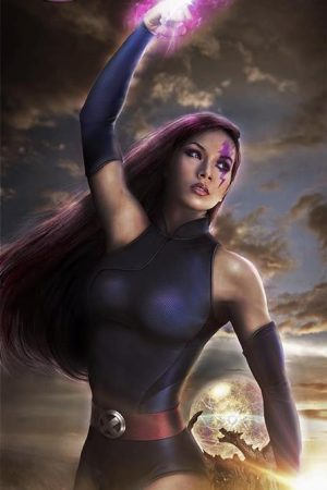Hero / Villain | Psylocke from X-Men by Mary Lauviah