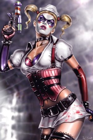 Hero / Villain | Harley Quinn by Raffaele Marinetti