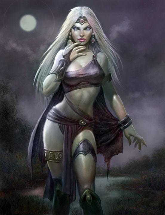 Lunar Witch by Paul Abrams