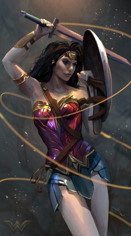 Wonder Women by Sarayu Ruangvesh