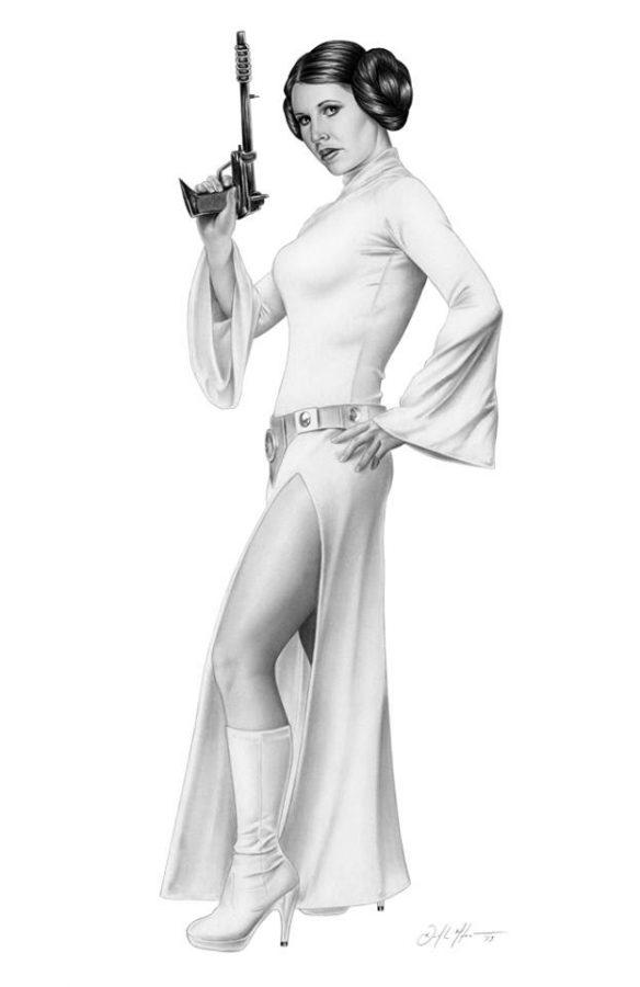 Princess Leia by Don Monroe