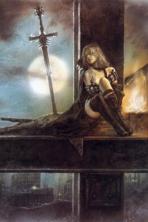 Warriors / Pirates | Art By Luis Royo (3)