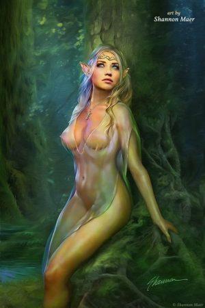 Fantasy Sexy Art | Elf Queen by Shannon Maer