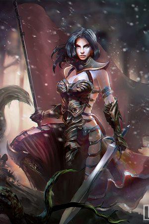 Woman Warrior – Oscar lv.1 by Watt277