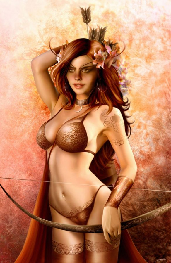 The amazon archer by cucujo