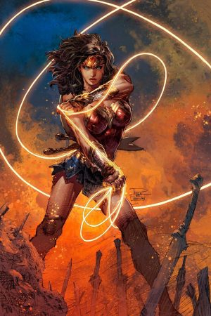 Hero / Villain | Wonder Woman by Summerset