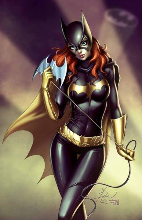 Batgirl Commission Colors by #Dawn_McTeigue