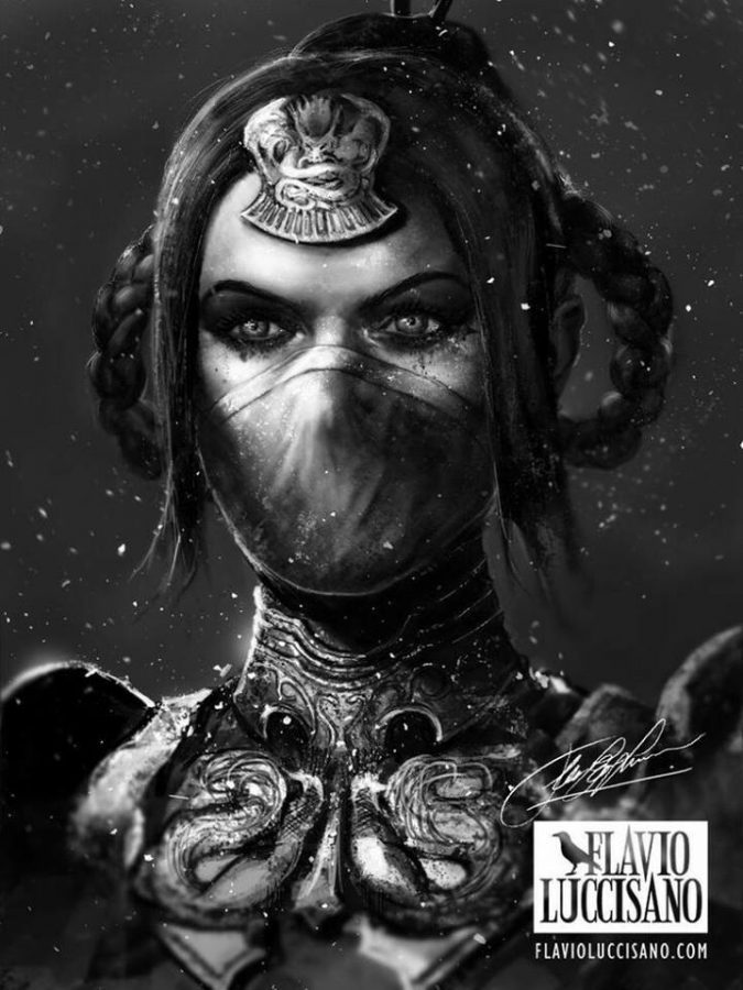Princess Kitana by Flavio Luccisano