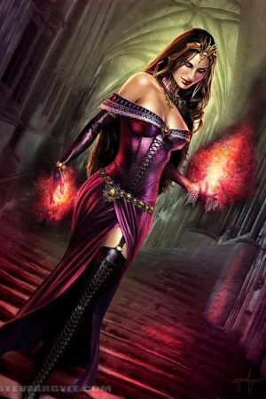 Witches / Wizards | Liliana of the Veil by Steve Argyle