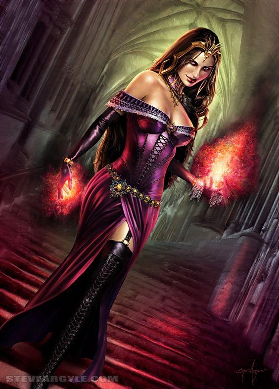 Liliana of the Veil by Steve Argyle