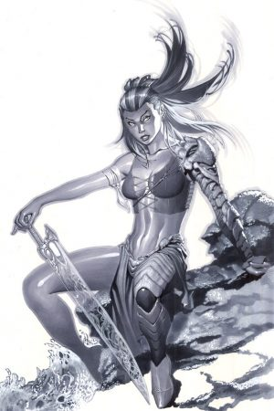 Warriors / Pirates | Kiani from Fathom Comic Art by Christoph...