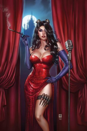 Illustration | Van Helsing Jessica Rabbit by Krome Art