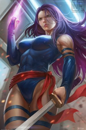 Hero / Villain | Psylocke by Nopeys