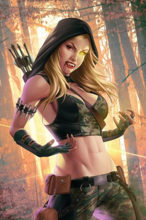 Van Helsing vs Robyn Hood by Megurobonin