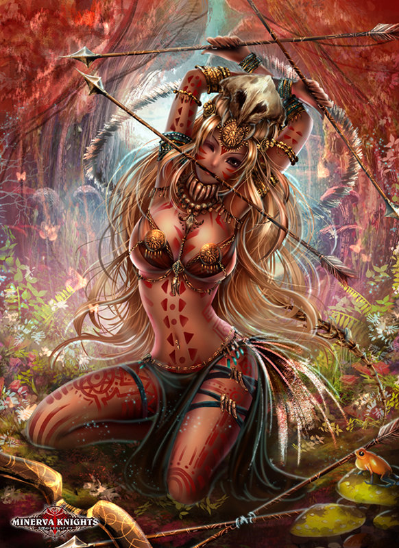 """Amazonion Archer"" – by Khanitta Bupphachat"
