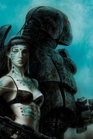 Sci-Fi / Steampunk | Artwork by Luis Royo (10)