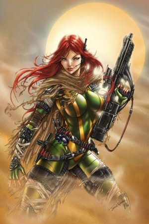 Warriors / Pirates | Hope Summers X-Men by Jamie Tyndall