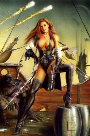 Warriors / Pirates | Red Haired Pirate by Sperlonga