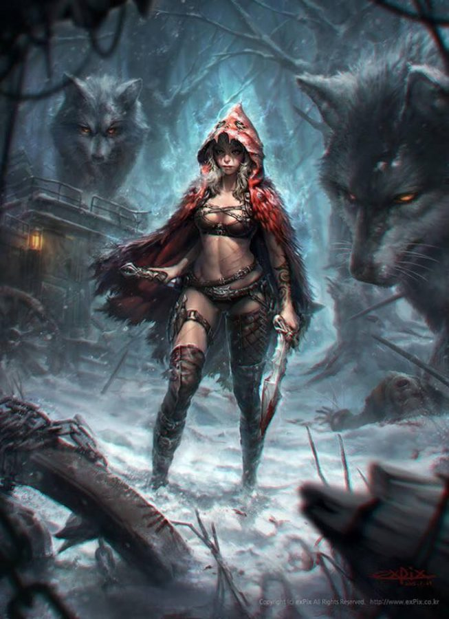 Red Ridinghood – Queen of the Wolf By HyunJoon Kim