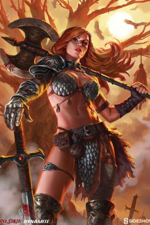 Red Sonja Queen of Scavengers by Alex Pascenko