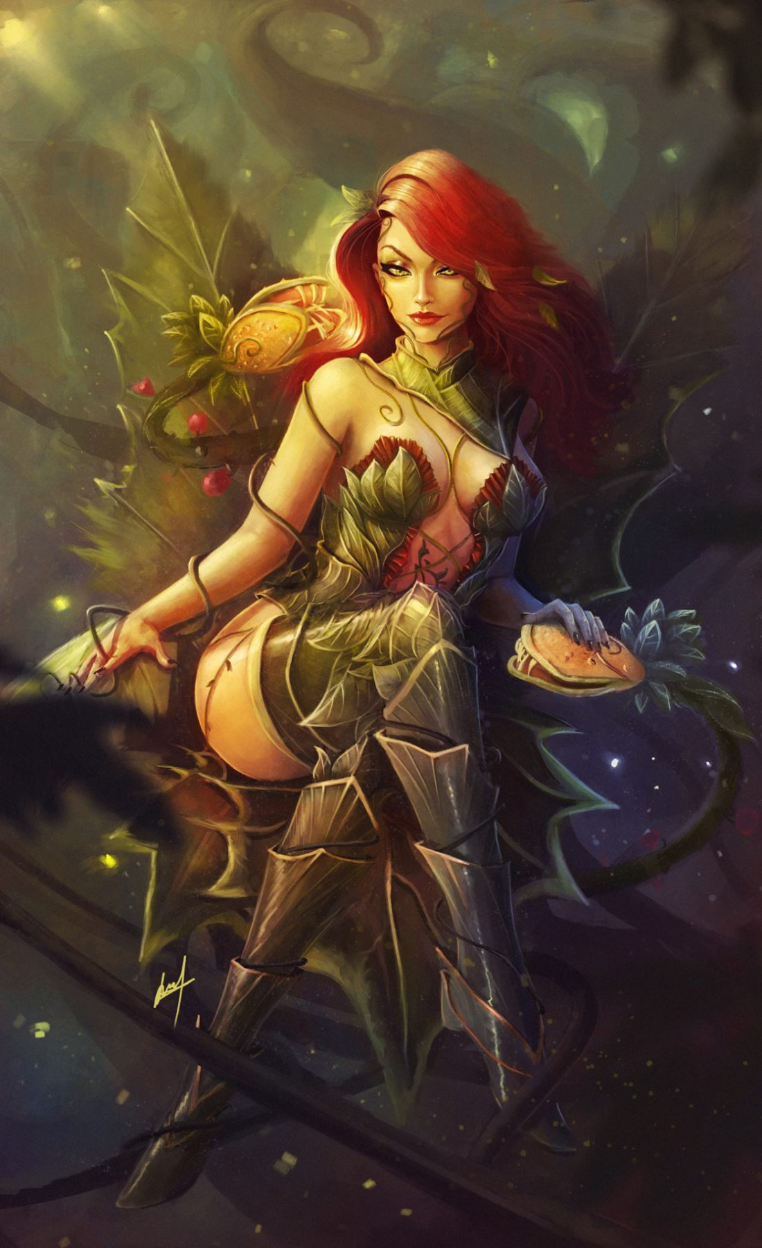 Poison Ivy by Samuel Marcano