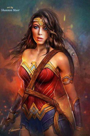 Wonder Woman by Shannon Maer