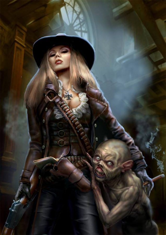 Hunter for undead by YuriPlatov
