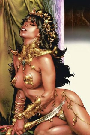 Dejah Thoris cover by JayAnacleto