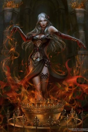 Flame Summoner Darci by Hoang Lap – (Solan)