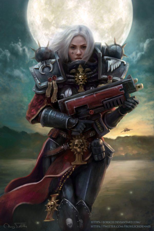 Sister of Battle by Dennis Fröhlich