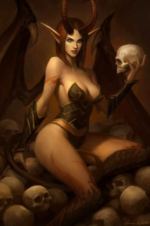 Angels / Demons | Succubus by Qichao Wang