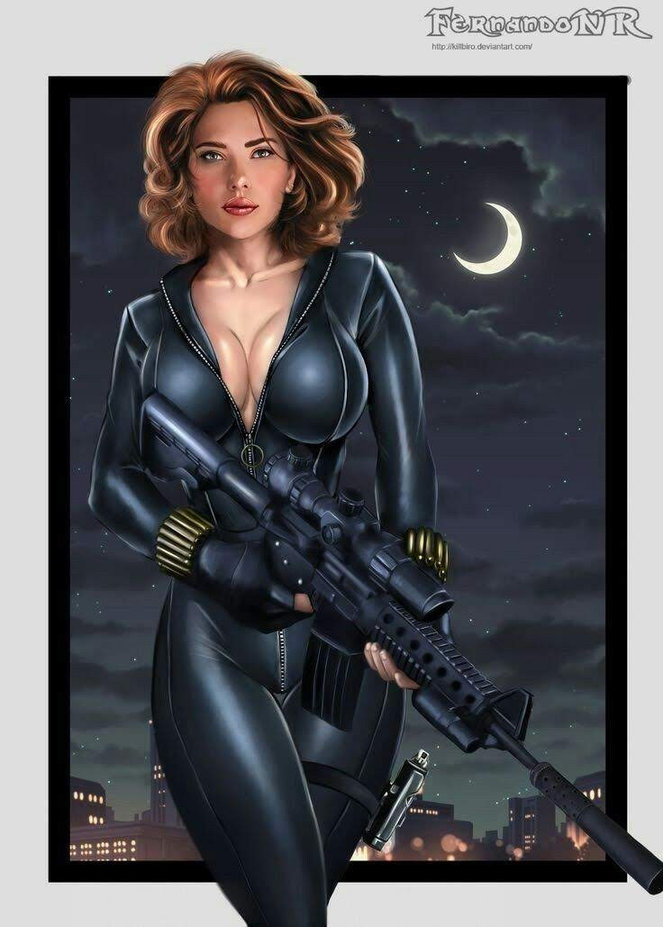 Black Widow by Fernando Neves Rocha