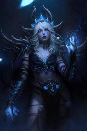 Witches / Wizards | Sindragosa by Ina Wong