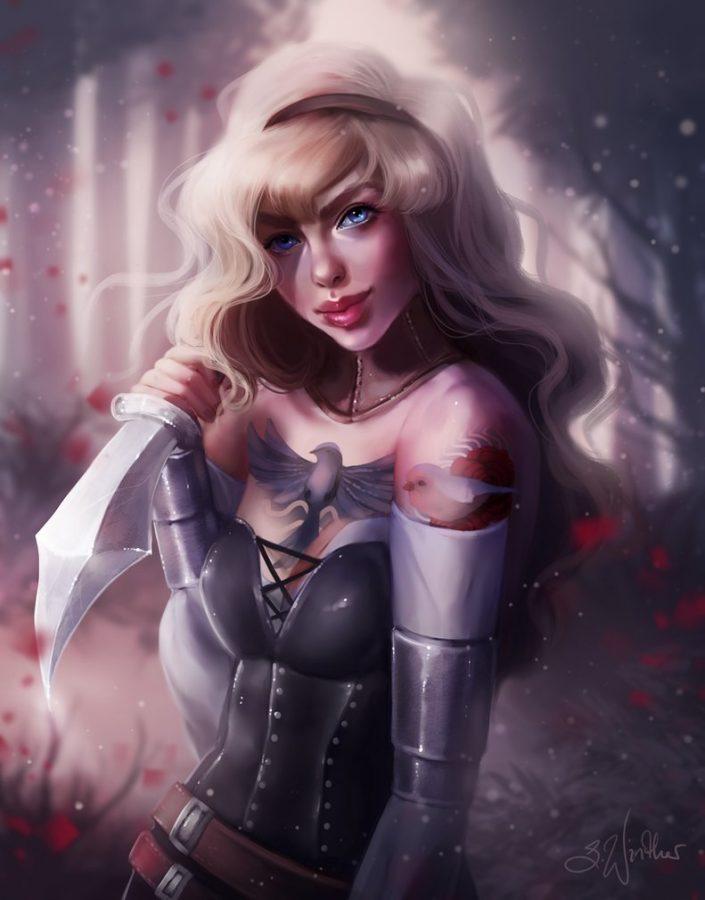 Warrior Aurora by Sandra Winther