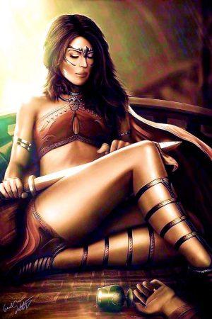 Fantasy Sexy Art | Zephyria by Italiener