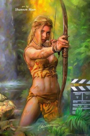Cover for Jungle Girl by Shannon Maer