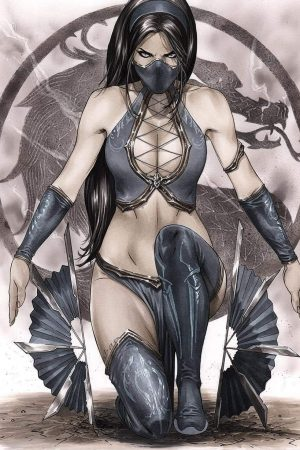 Illustration | Kitana mortal kombat by eric basaldua