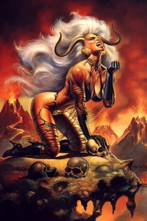 Fantasy Sexy Art | Lady Demon by Boris Vallejo
