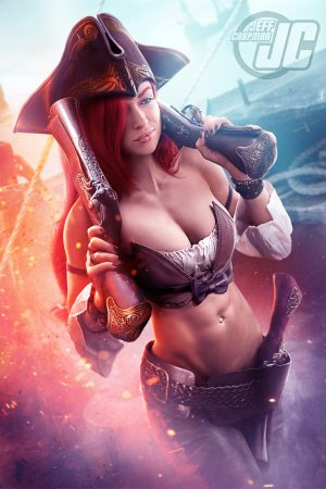 Miss Fortune – League of Legends by Jeffach