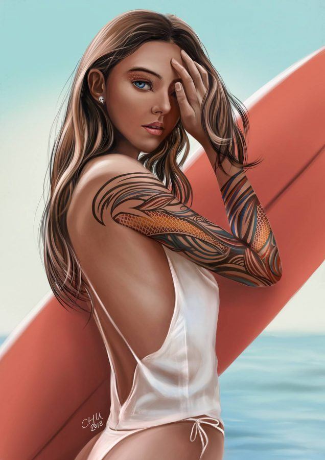 Artwork by Vincent Chu