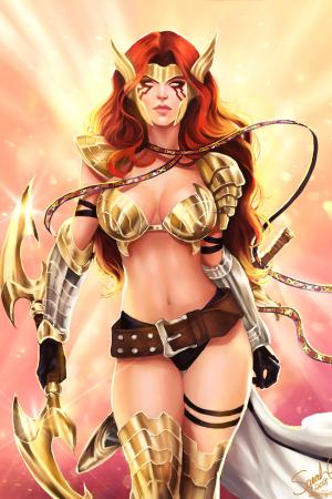 Fantasy Art | Angela - Asgard's Assassin by Forty-Fa...