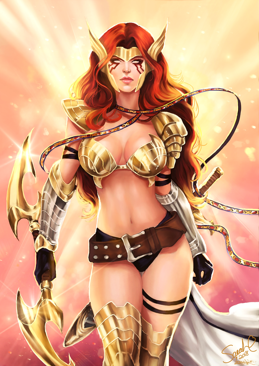 Angela – Asgard's Assassin by Forty-Fathoms