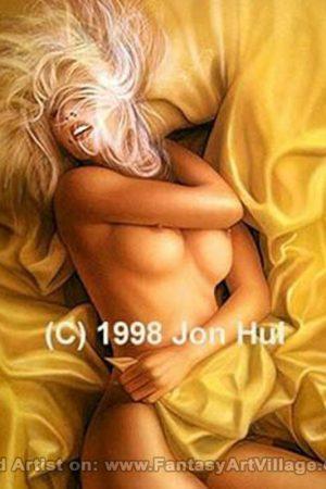 Fantasy Sexy Art | Jon Hul - 1988