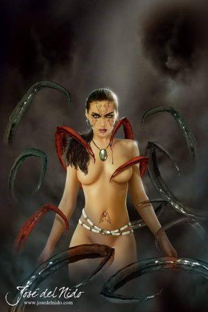 Fantasy Sexy Art | Tentacles by Jose_ Del_Nido